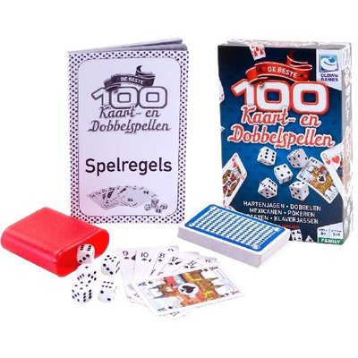 Clown Games 100 Kaart & Dobbel Spellen