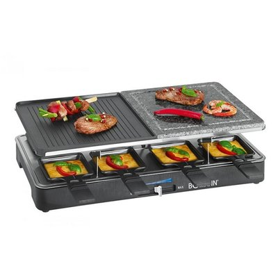 Bomann RG 2279 CB 2in1 Raclette-Grill 1200-1400W