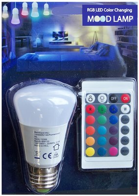 LED Mood lamp met afstandsbediening