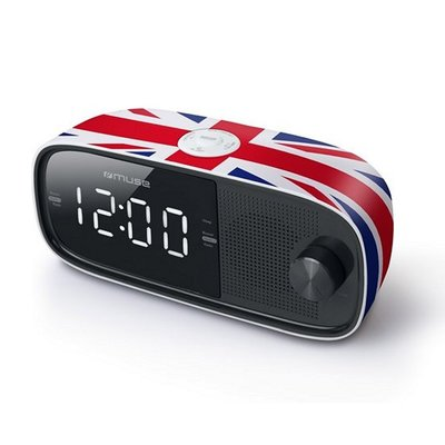 Muse M-168UK UK Flag Wekkeradio