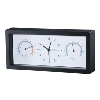 Hama Thermo-/hygrometer TH33-A Zwart
