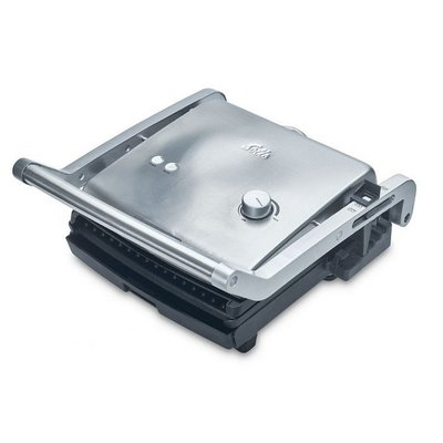 Solis 7952 Grill and More Contactgrill RVS/Zwart