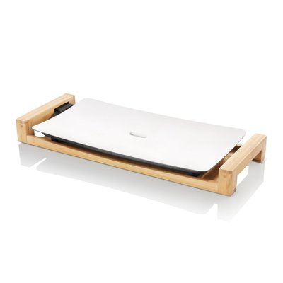 Princess 103030 Table Chef Pure Bakplaat 2500W Wit/Hout