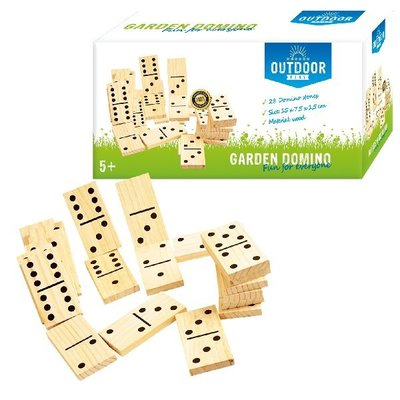 Outdoor Play Domino Hout 28-delig
