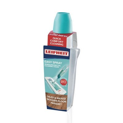 Leifheit 56692 Easy Spray Reinigingsmiddel voor Geolied en Gewaxt Parket 625 ml