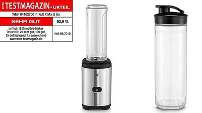 WMF Kult X Mix & Go Blender 0,6L RVS
