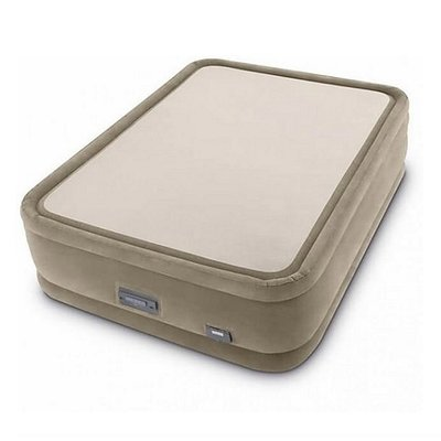 Intex 64936 Queen PremAire ThermaLux Luchtbed 203x152x51 cm Beige