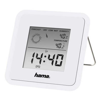 Hama Thermo-/hygrometer TH50 Wit