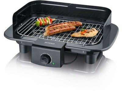 Severin PG9710 Contactgrill 2300W Zwart