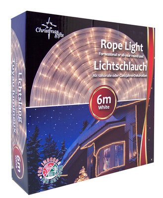 Christmas gifts Lichtslang wit (6 m)