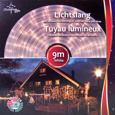 Christmas gifts Lichtslang wit  9 meter
