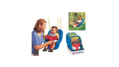 Little Tikes Schommel 2 in 1 Blauw