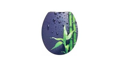 Cornat KSDSC304 Bamboo Acryl WC Bril Softclose 130-180mm