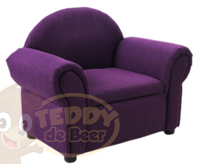 Teddy fauteuil paars