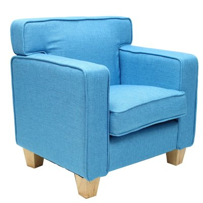 Teddy Fauteuil Palmboom Baby Blauw