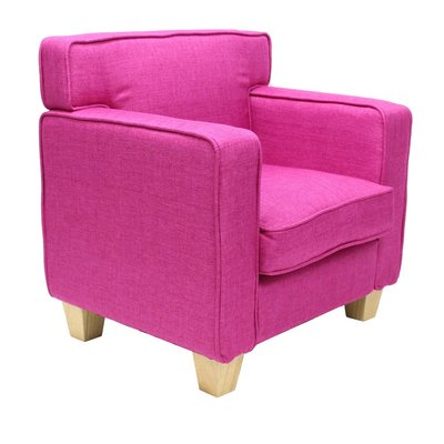 Teddy Fauteuil Palmboom Roze