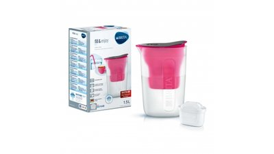 Brita Fill&Enjoy Waterfilterkan Fun Pink 1,5L