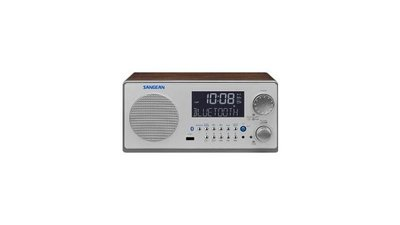 Sangean WR22 Retro Design Radio met Bluetooth