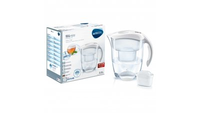 Brita Waterfilterkan Elemaris XL Wit 3,5L