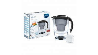 Brita Waterfilterkan Elemaris Cool Zwart 2,4L