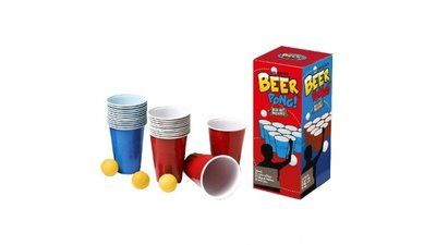Beer Pong 20 Bekers en 6 Balletjes