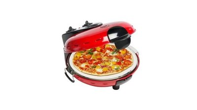Bestron DLD9070 Pizza Steenoven Rood