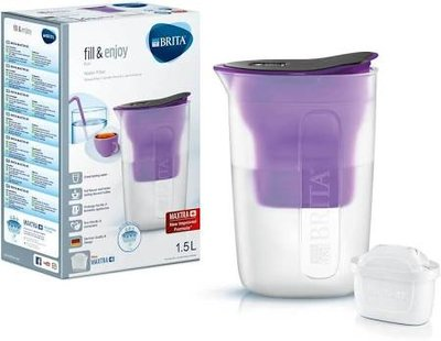 Brita Fill&Enjoy Waterfilterkan Fun Purple 1,5L
