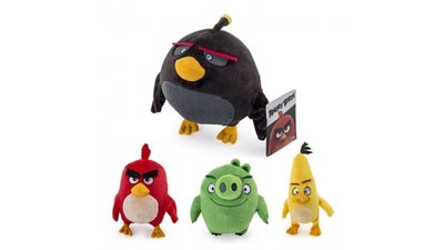 Angry Birds Pluche Knuffel 20 cm