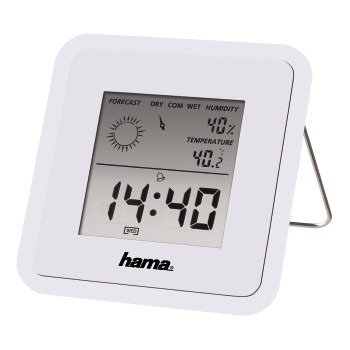 Hama TH50 Thermometer/Hygrometer Wit
