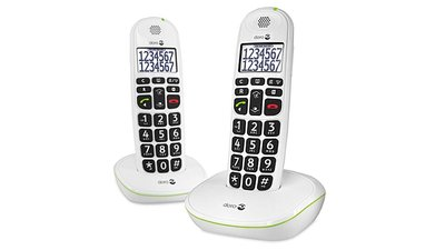 Doro Phone Easy 110 Duo Big Button Care Dect Telefoon Wit