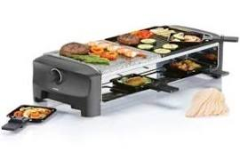 Princess 162820 5in1 8-Persoons Raclette/Steengrill Party