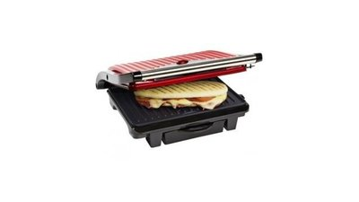 Bestron ASW113R Panini Grill Rood