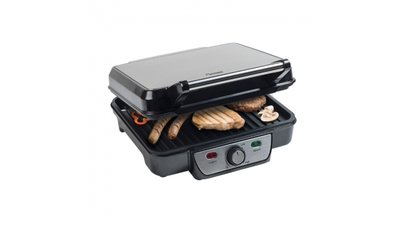 Bestron ASW318 RVS Contactgrill