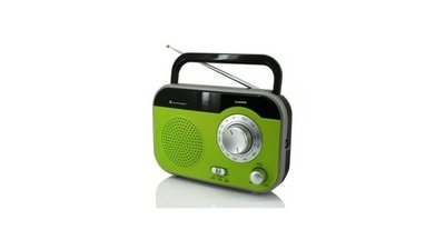 Sound Master TR410GR Portable FM/AM Radio Groen