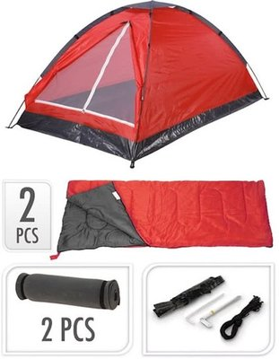 Campingset rood