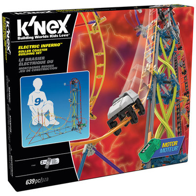 Knex Electric Interferno Achtbaan