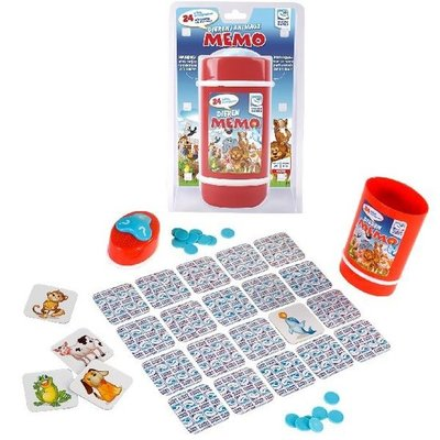 Clown Games Dieren Memo