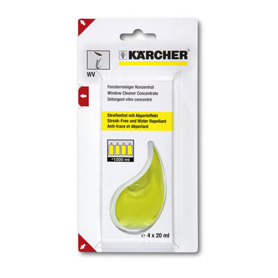 Karcher Glasreiniger 4x20ml
