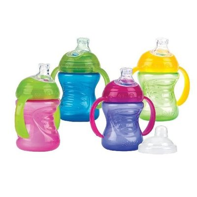 Nuby Drinkbeker met Handvaten Step 1 240ml Assorti