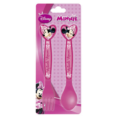 Disney Minnie Plastic Bestek