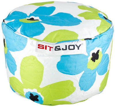 Sit & Joy Zitzak Small Dot 55cm aqua / lime