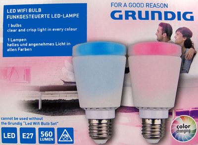 Grundig Lamp met WIFI & LED kleurschakeringen