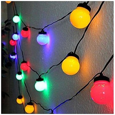 Feestverlichting 10 LED-lampen multicolor