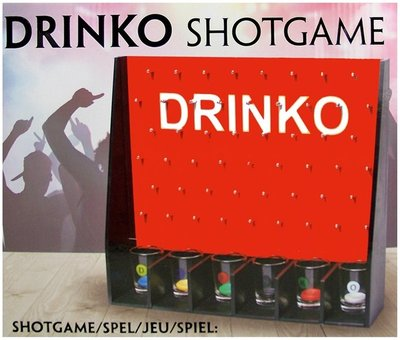Drinko Shotgame spel