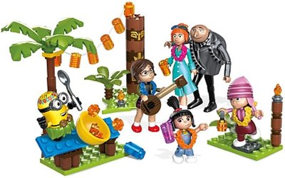 Mega Construx Family Luau Party