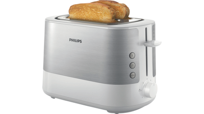 Philips HD2637 Viva Collection Broodrooster Wit/RVS