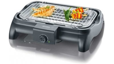 Severin PG8511 Barbecue Tafelgrill 2300W Zwart