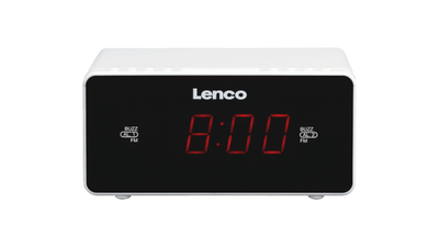 Lenco CR-510 WH Wekkerradio Wit