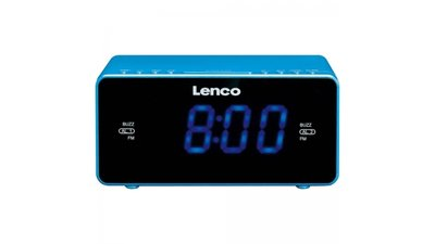 Lenco CR-520 Klokradio Blauw