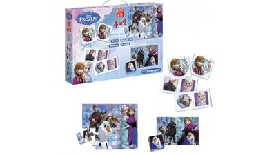 Clementoni Disney Frozen Super Kit 4in1